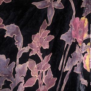 maddie k Other - Gorgeous Floral Velvet Burnout Kimono